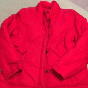 Down/ feather jacket. Gap